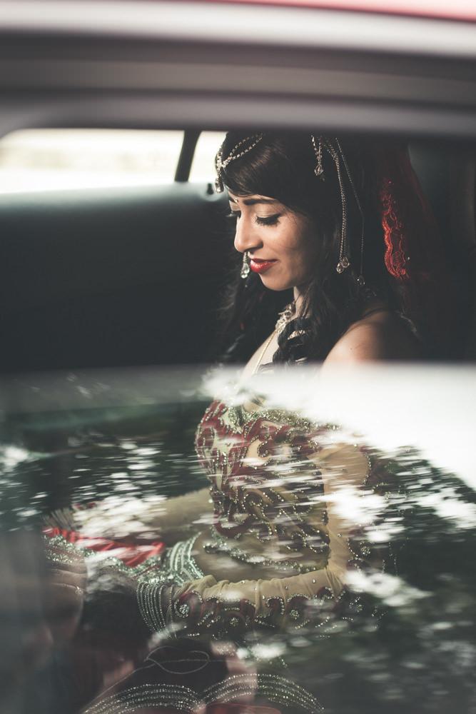 grand manor gardens wedding rbadal photography tongaat indian bride in car