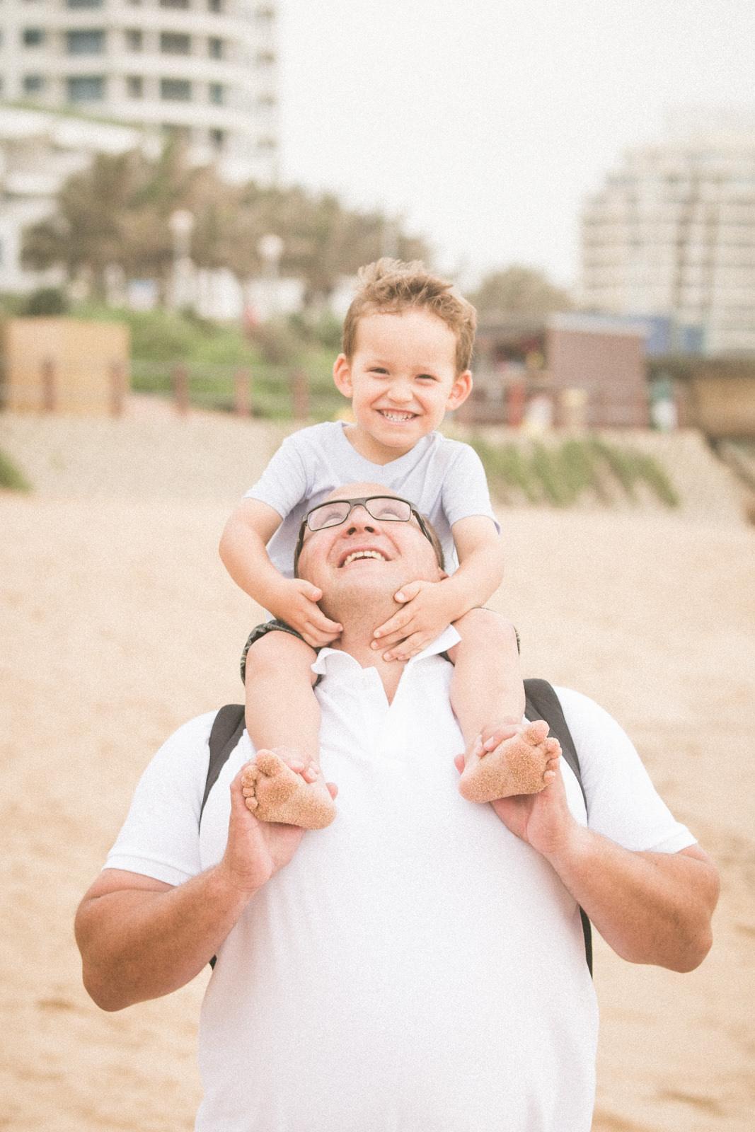 Family photography umhlanga beach rbadal photography dad and son