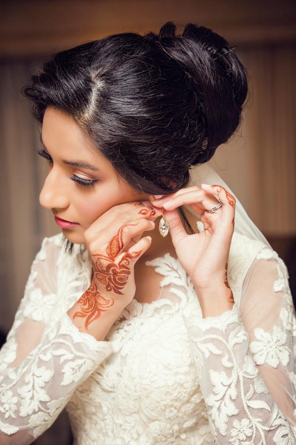 muslim bride getting ready durban islamic