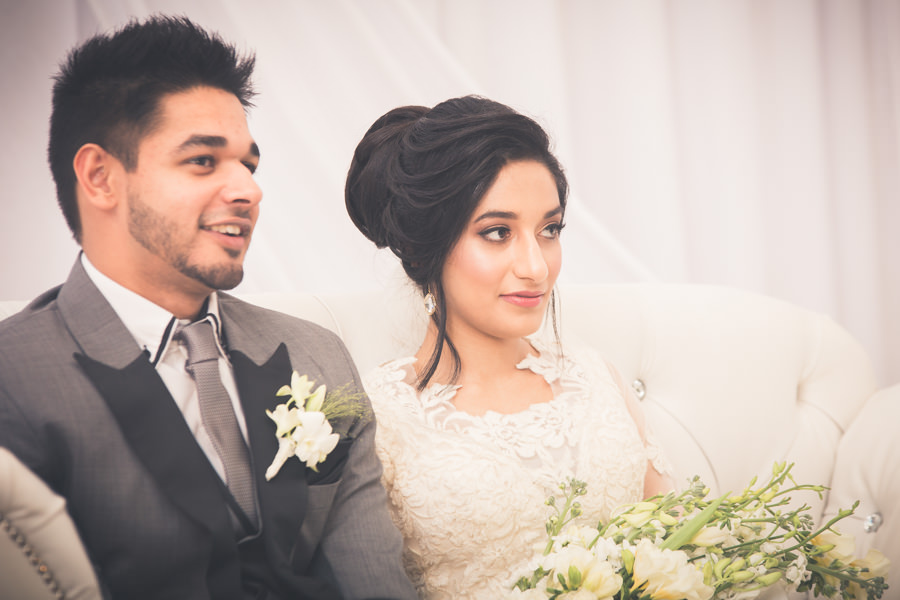 muslim bride with groom on stage durban islamic