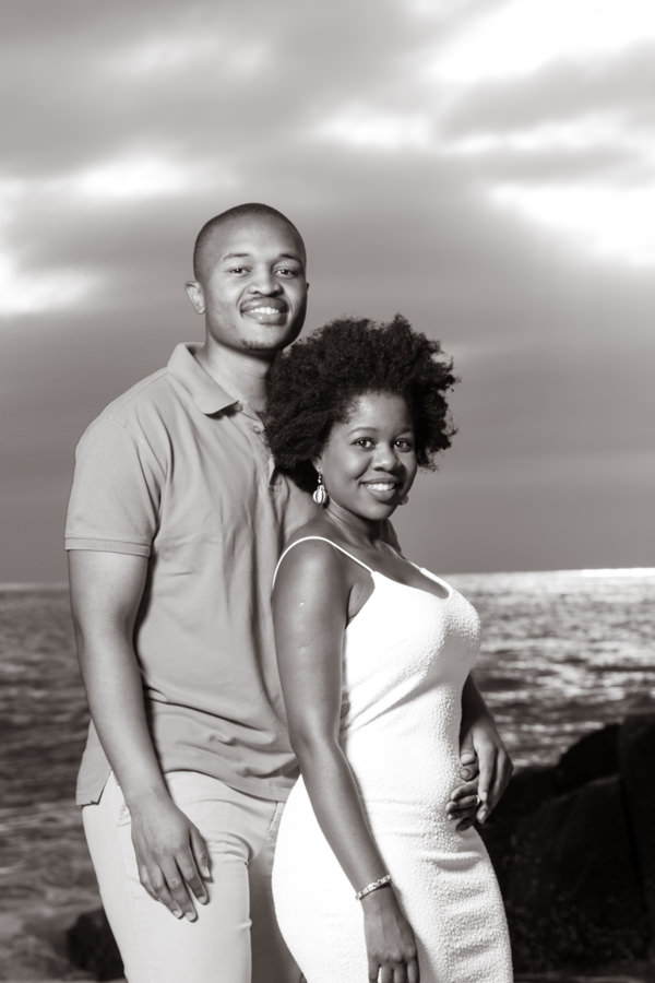 couples shoot ballito beach