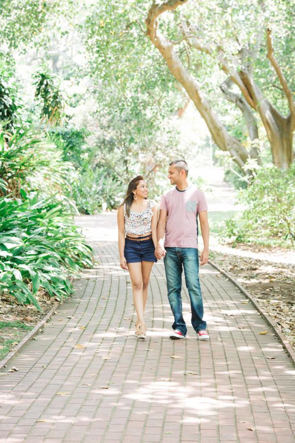 botanic gardens engagement proposal rbadal photography durban