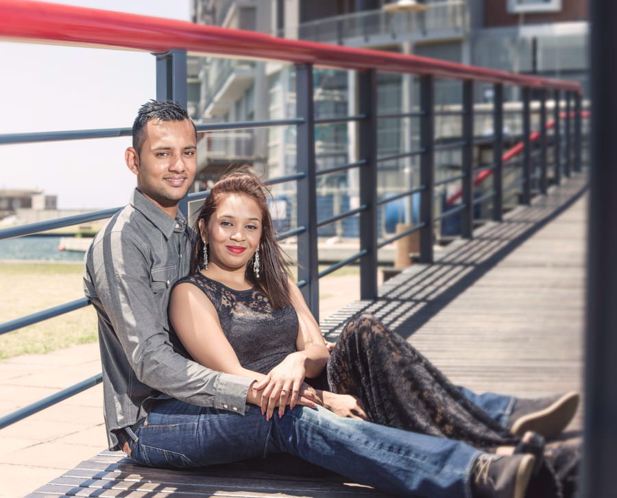 uShaka Durban engagement proposal rbadal photography