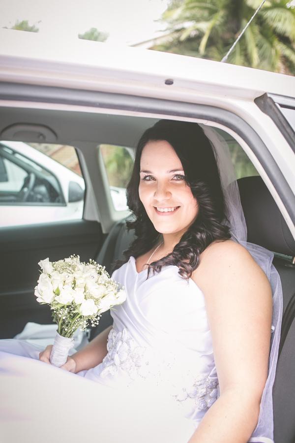 durban wedding photography decor durban north bride in car
