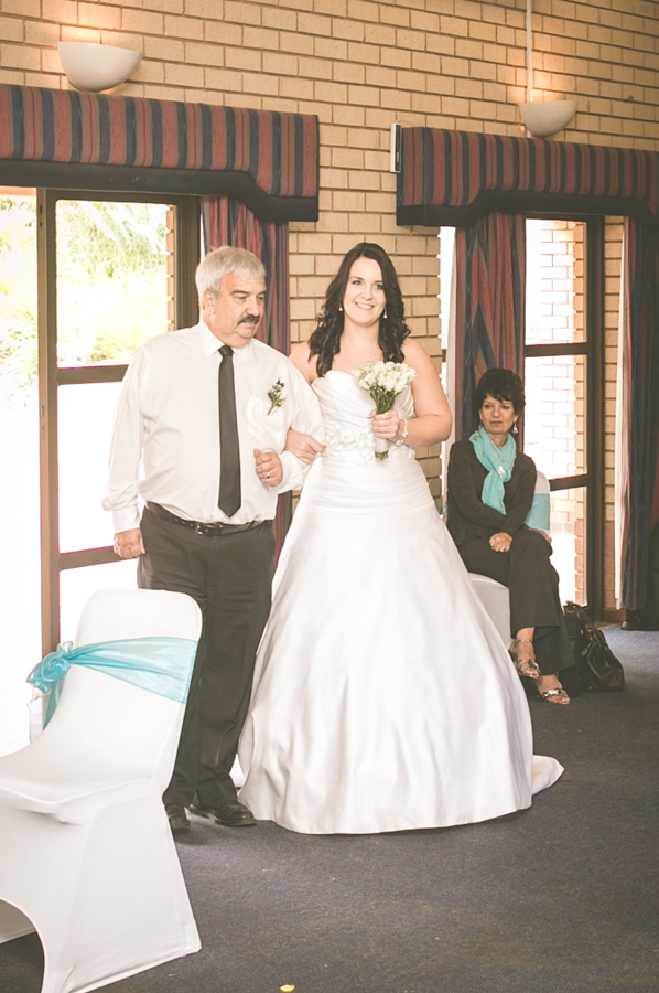 durban wedding photography decor durban north bride and father in aisle