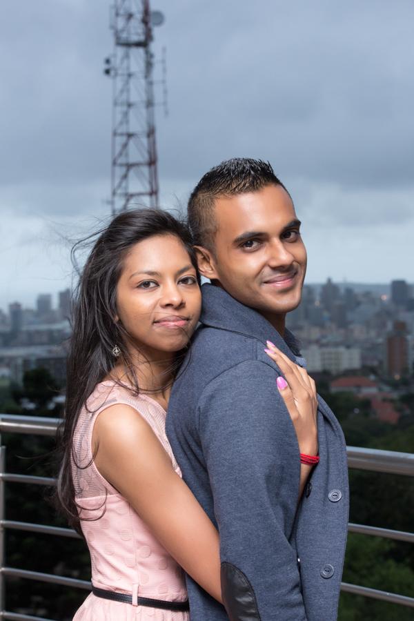 surprise proposal engagement photographs rbadal photography durban hugging