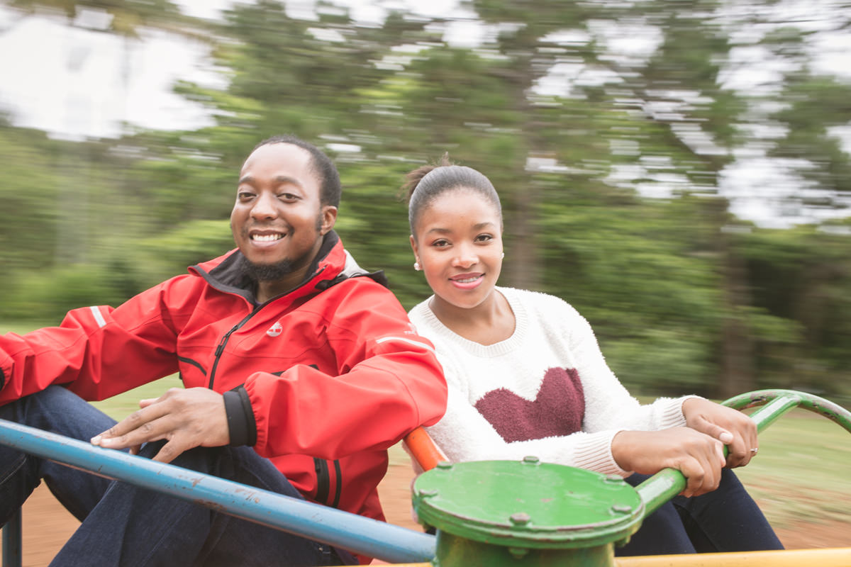 Durban La Lucia Engagement Proposal Rbadal Photography merry go round