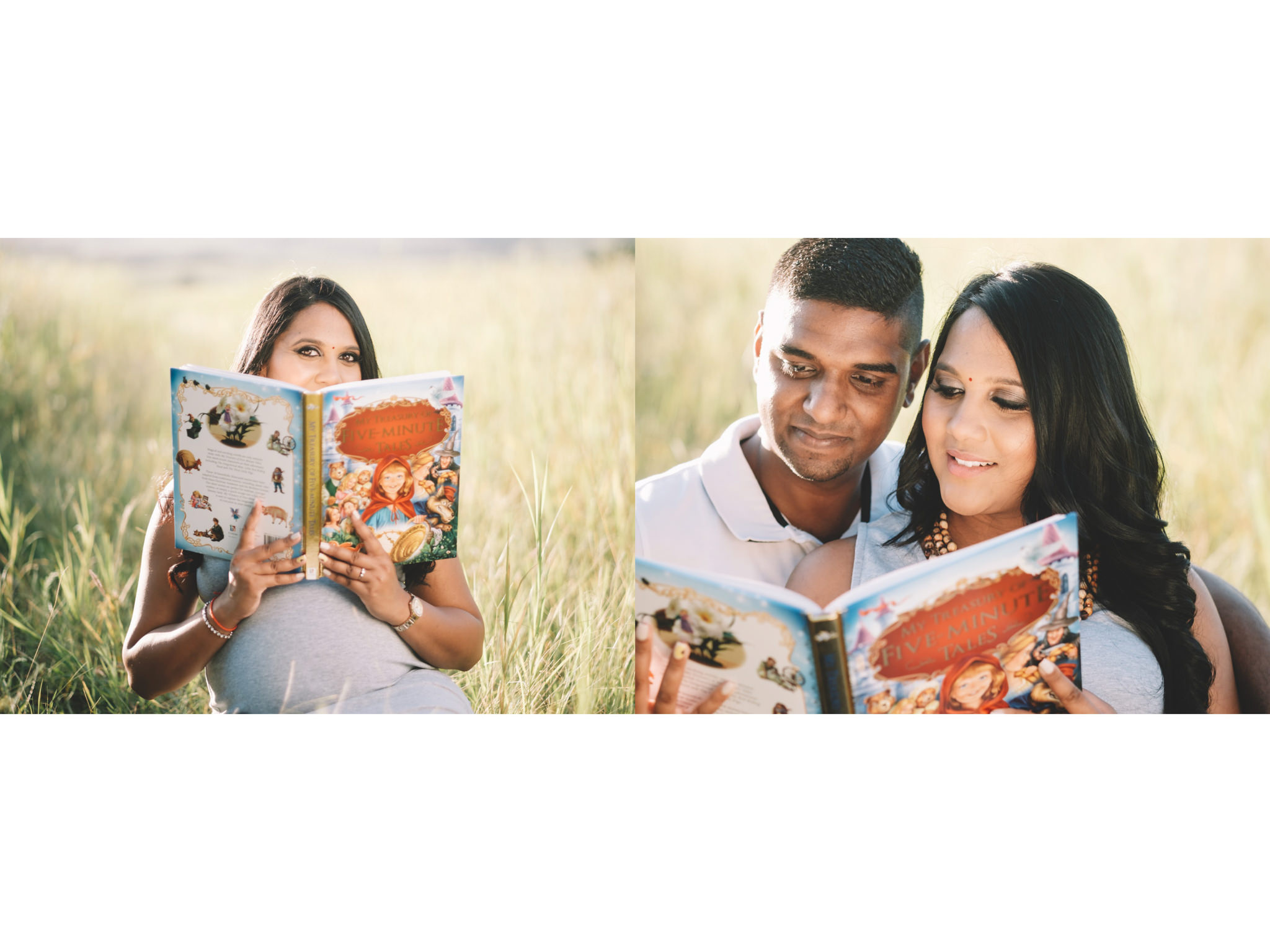 Durban Maternity Photography RBadal Ballito reading baby book