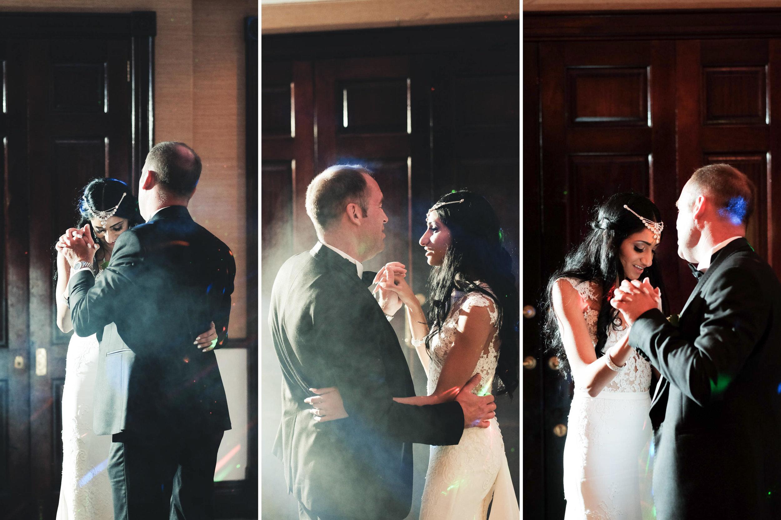 Zimbali Ballito Wedding Photography RBadal reception first dance