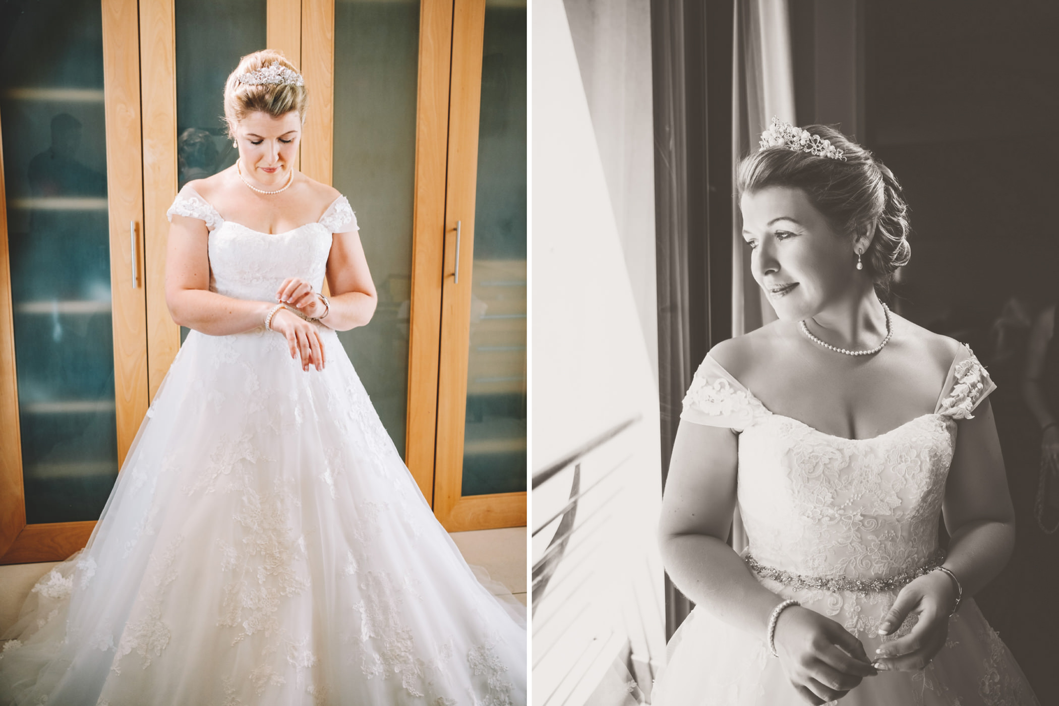 Mount Edgecombe Wedding Photography RBadal bride getting ready