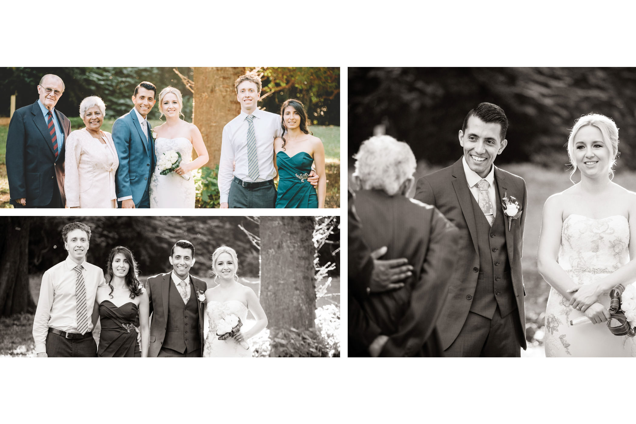 Bluff Wedding Photography Bride and Groom Family
