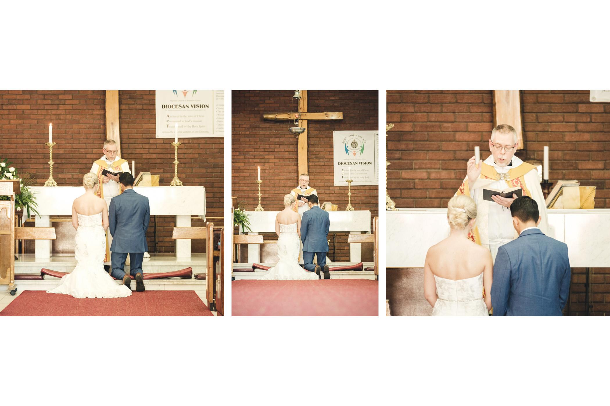 Bluff Wedding Photography Bride and Groom Church