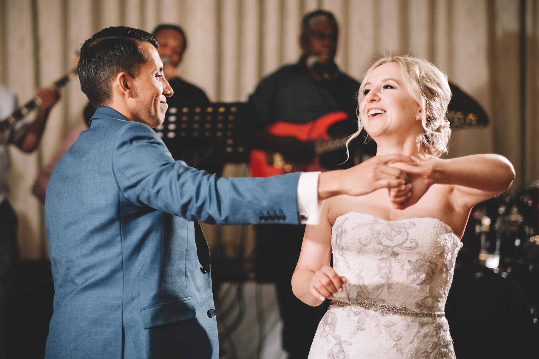 Bluff Wedding Photography Bride and Groom El Arish First Dance