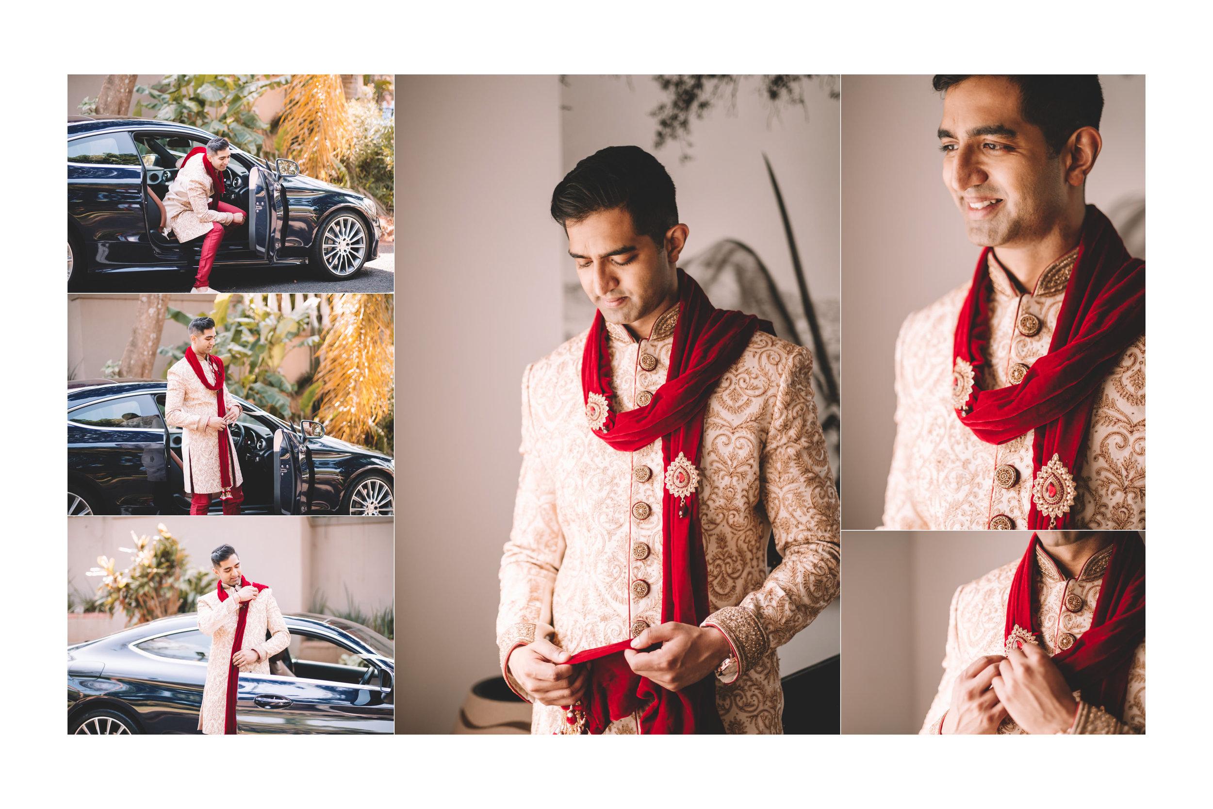 Umhlanga Wedding Photography Groom Getting Ready
