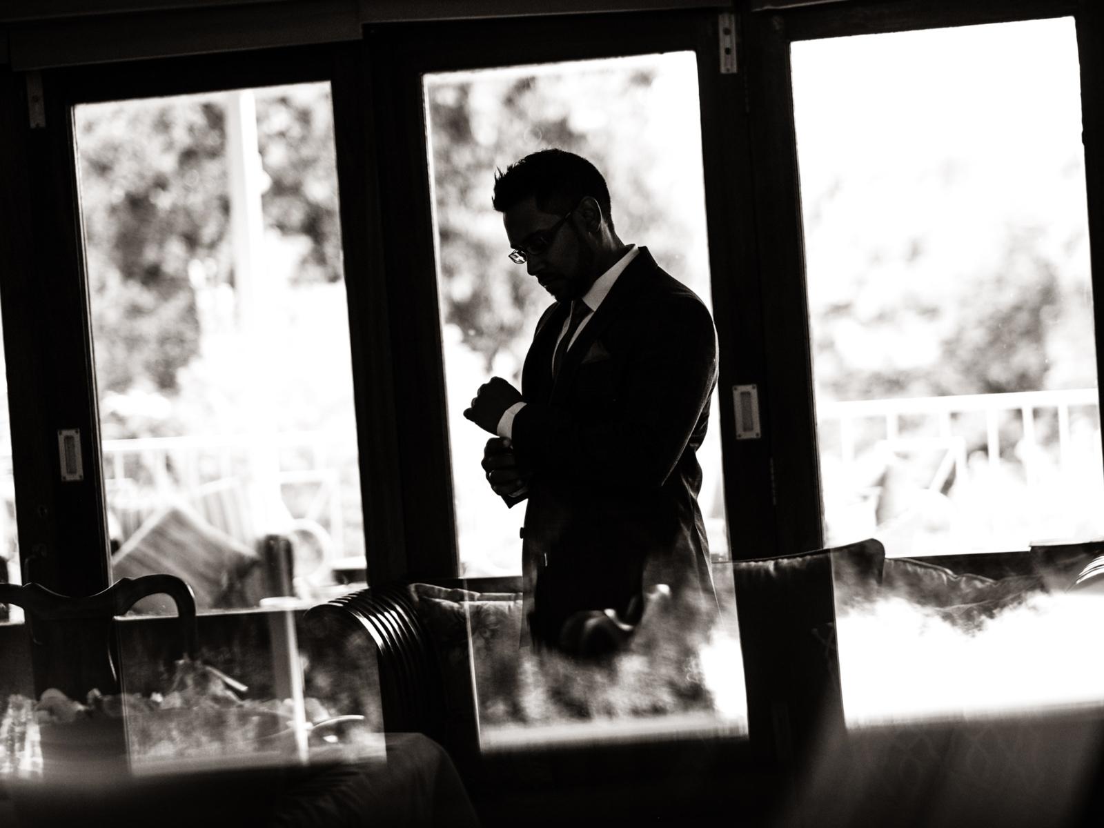 Pietermaritzberg Wedding Photography RBadal groom getting ready