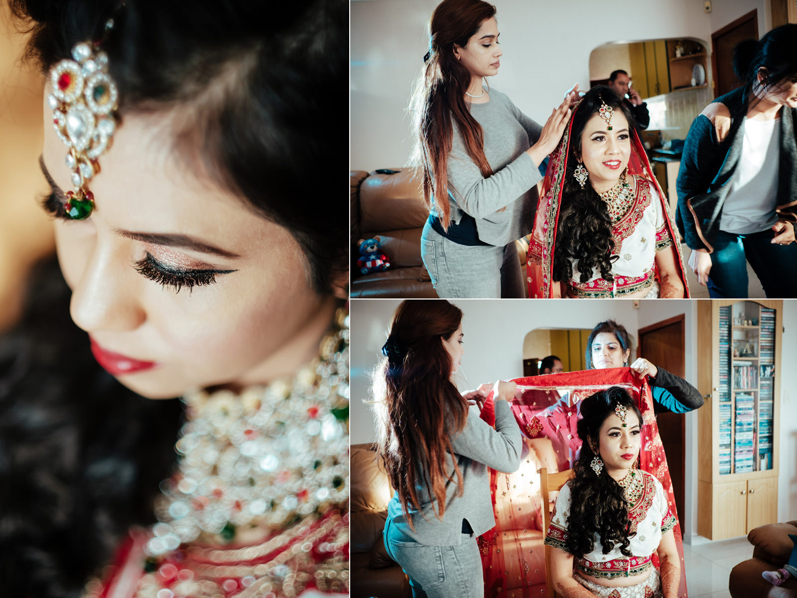 Kendra Wedding Photography rbadal bride getting ready