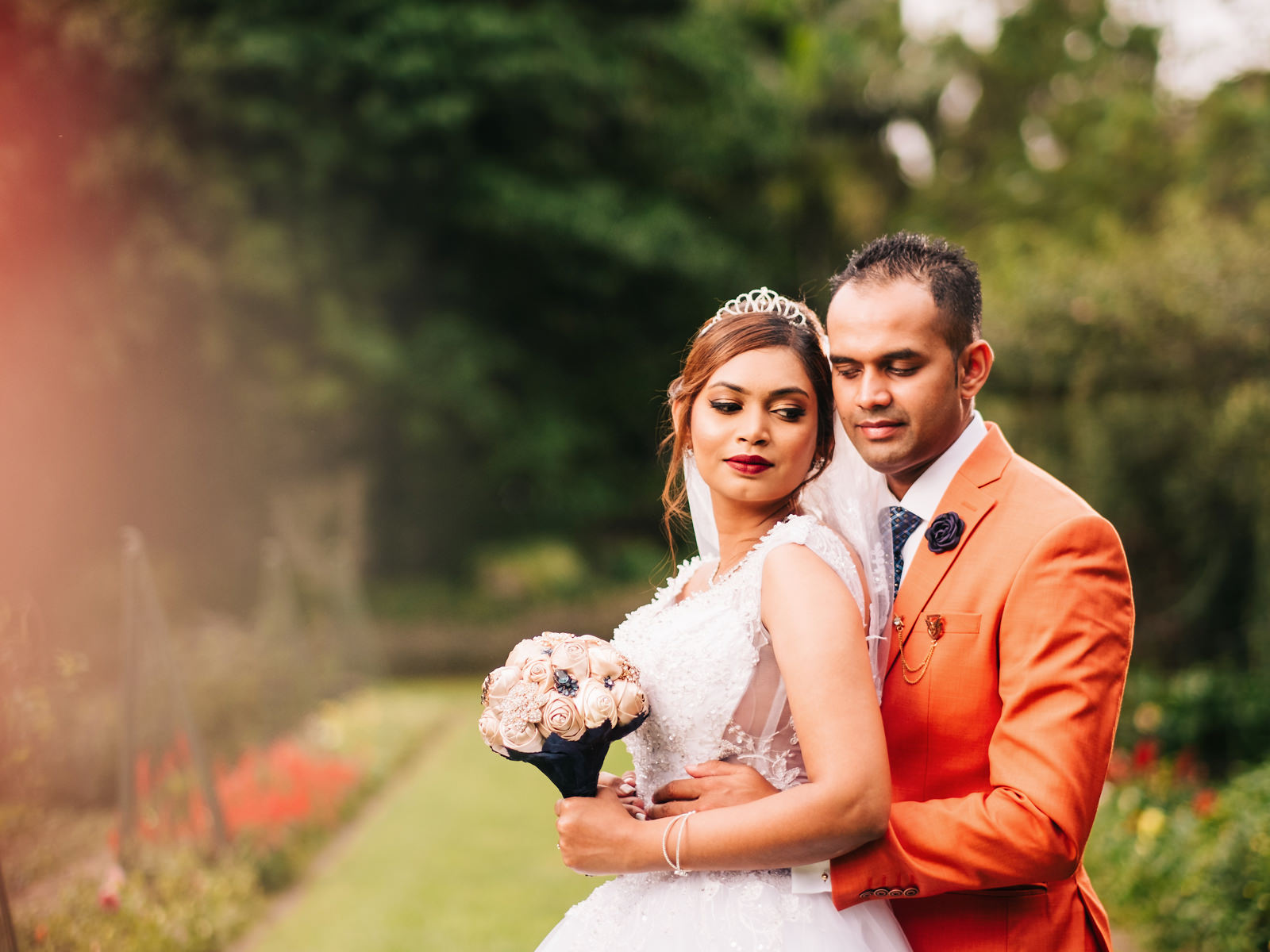 Botanic Gardens Wedding Photography RBadal