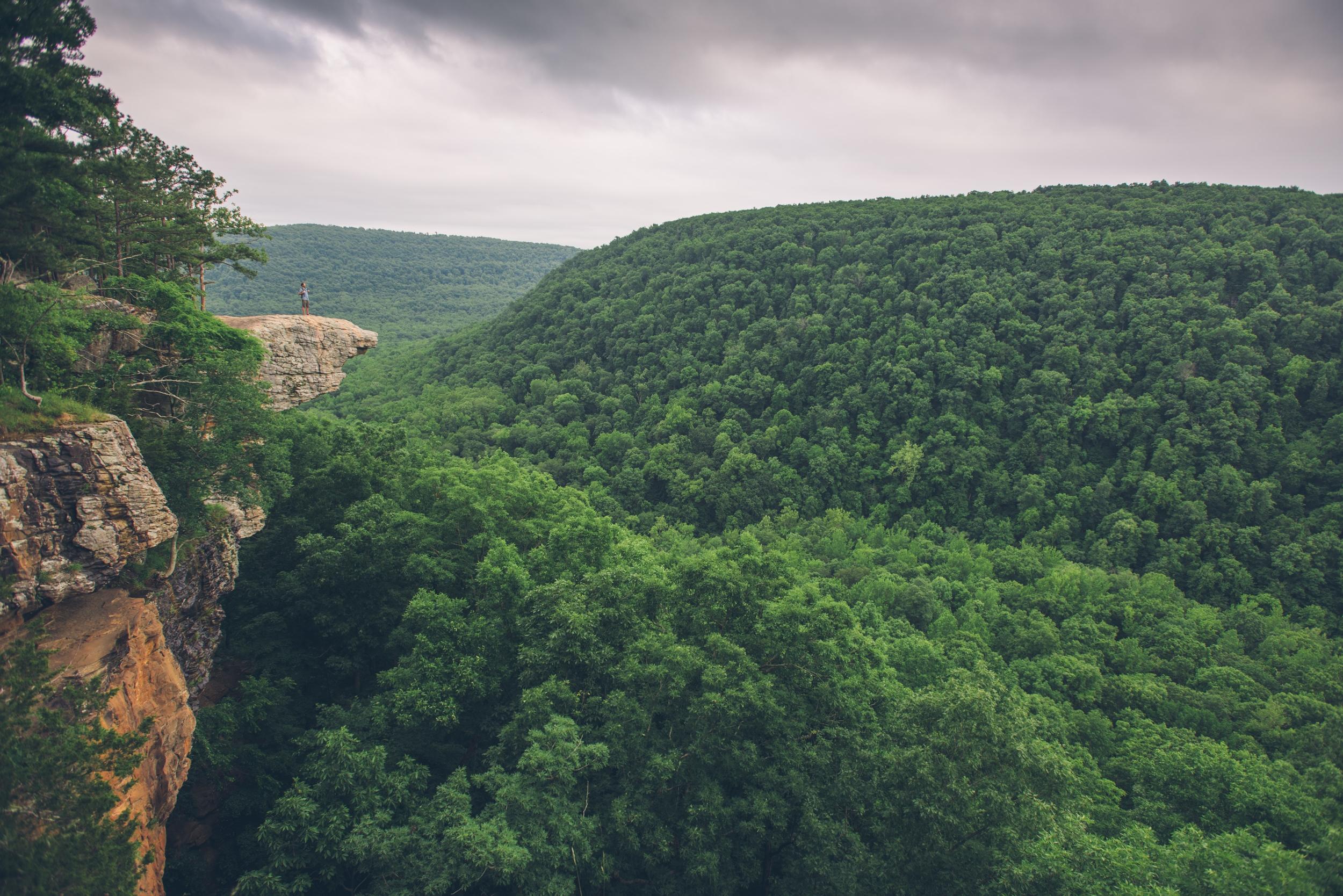 Hawksbill Crag - Arkansas