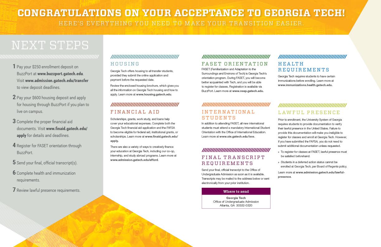 Georgia Tech 2015 Admissions Campaign Brett Lorber