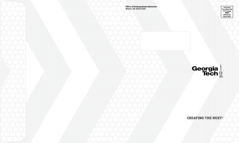 Georgia Tech - 2016 Admissions Campaign — Brett Lorber