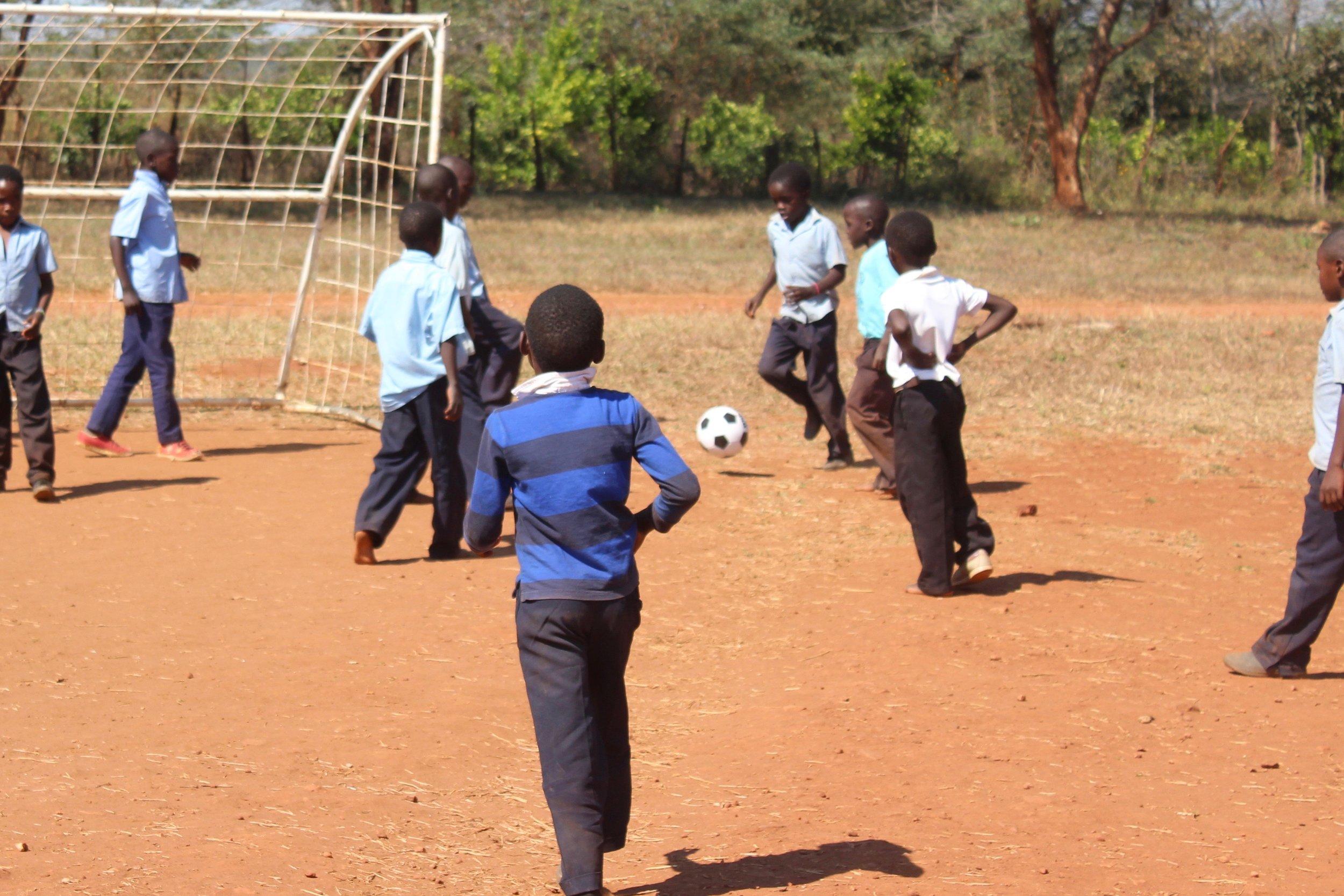 Grade One and Three Football