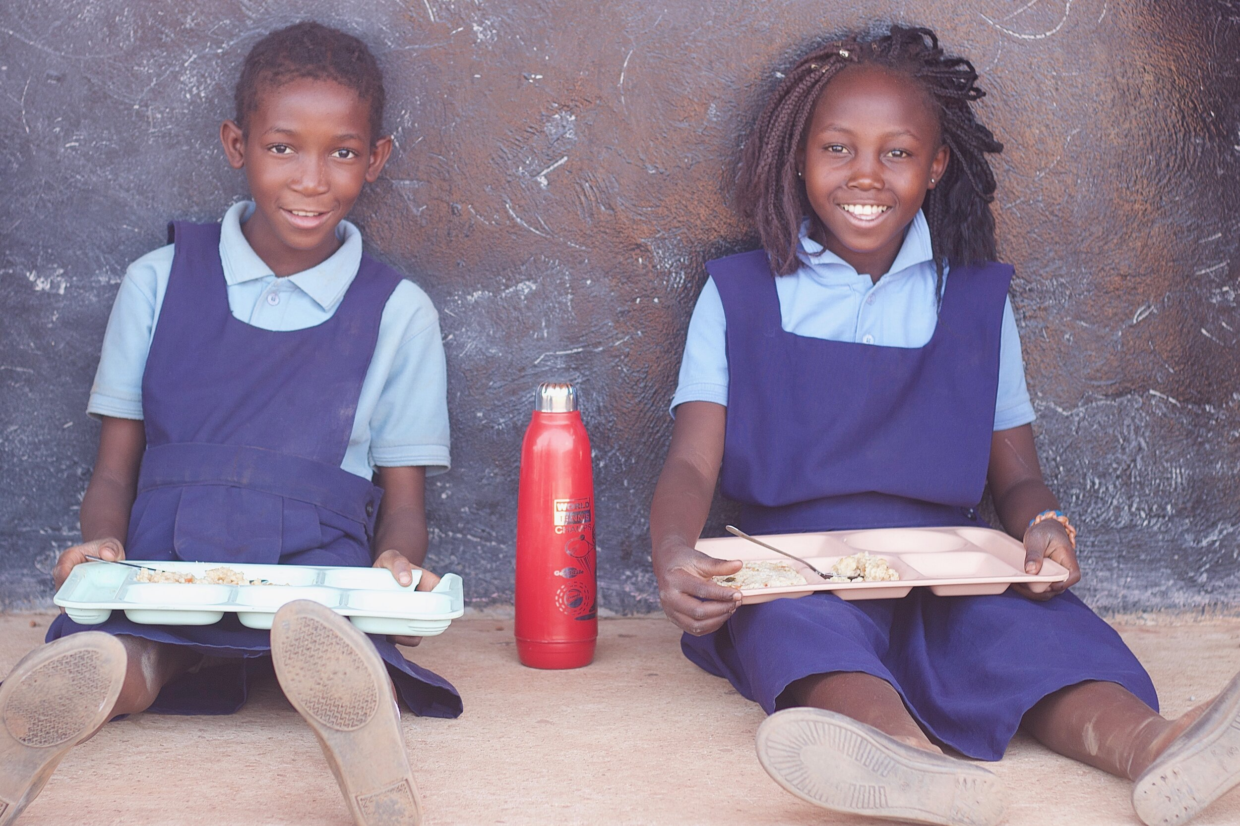 God provides so much throughout the school day, including two meals and a snack! Before students eat, they bless their food. They thank God for the people who prepare it and ask God to use it to bring energy.