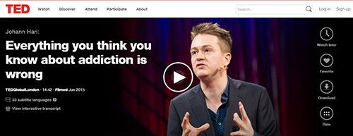 Johann Hari TED Talk