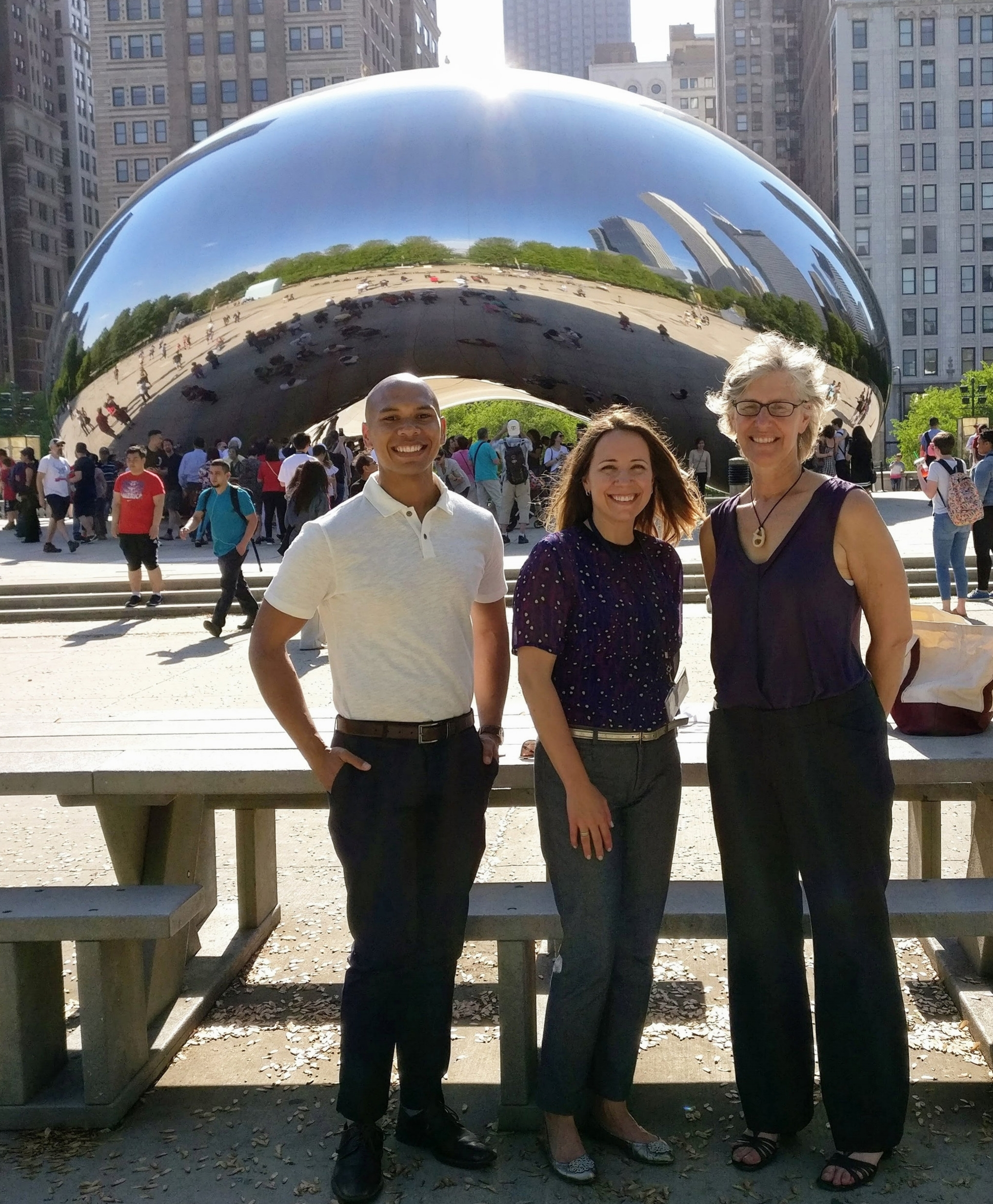 Concentric Counseling & Consulting Therapists On The Table 2017 Millennium Park Chicago