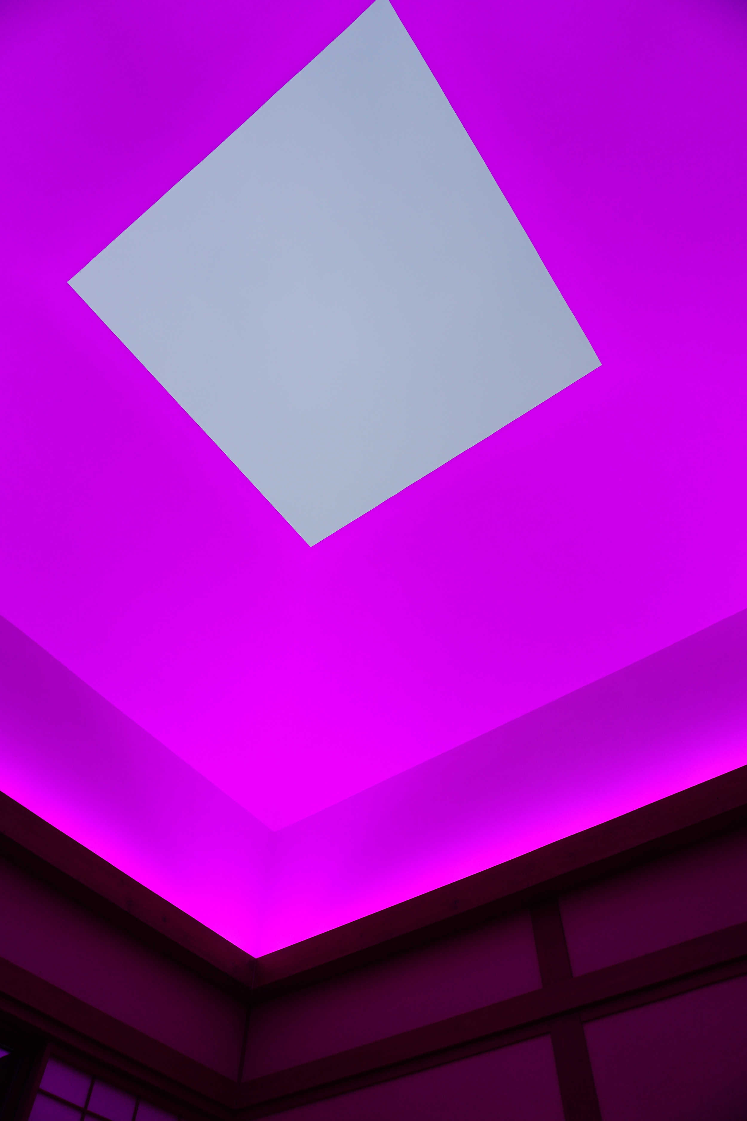 Sunset sky from James Turrell's House of Light.  The highlight of my weekend.