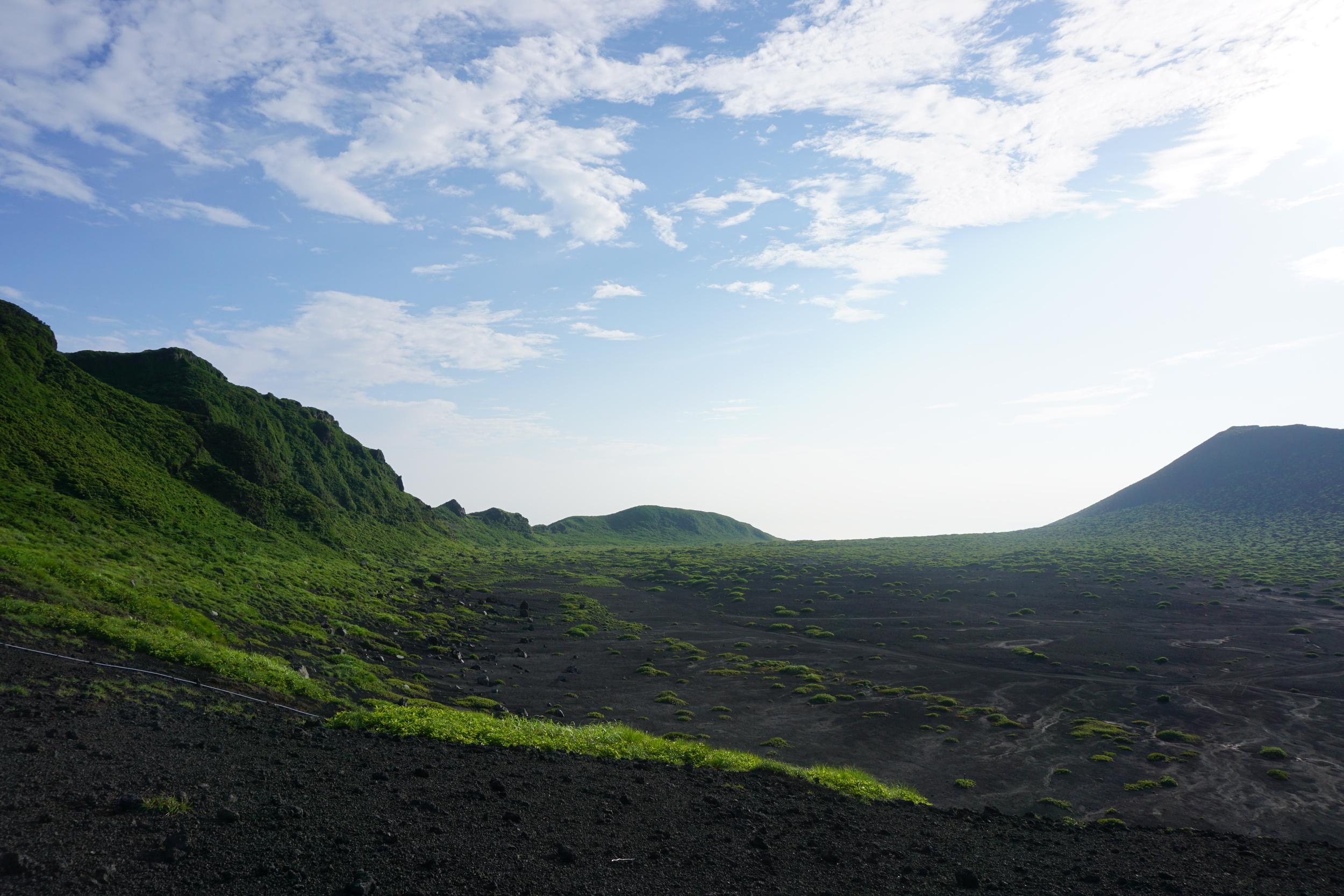 Mt Mihara rim hike