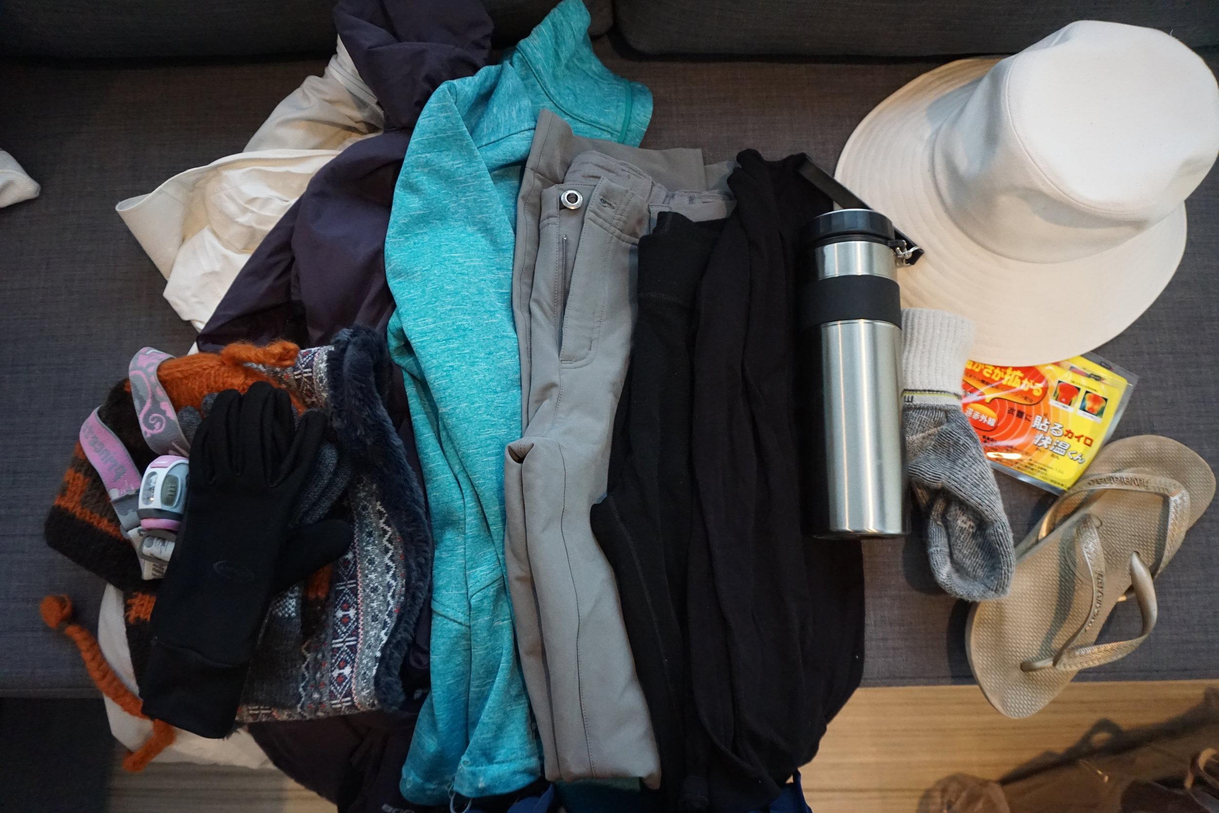 packing prep_fuji