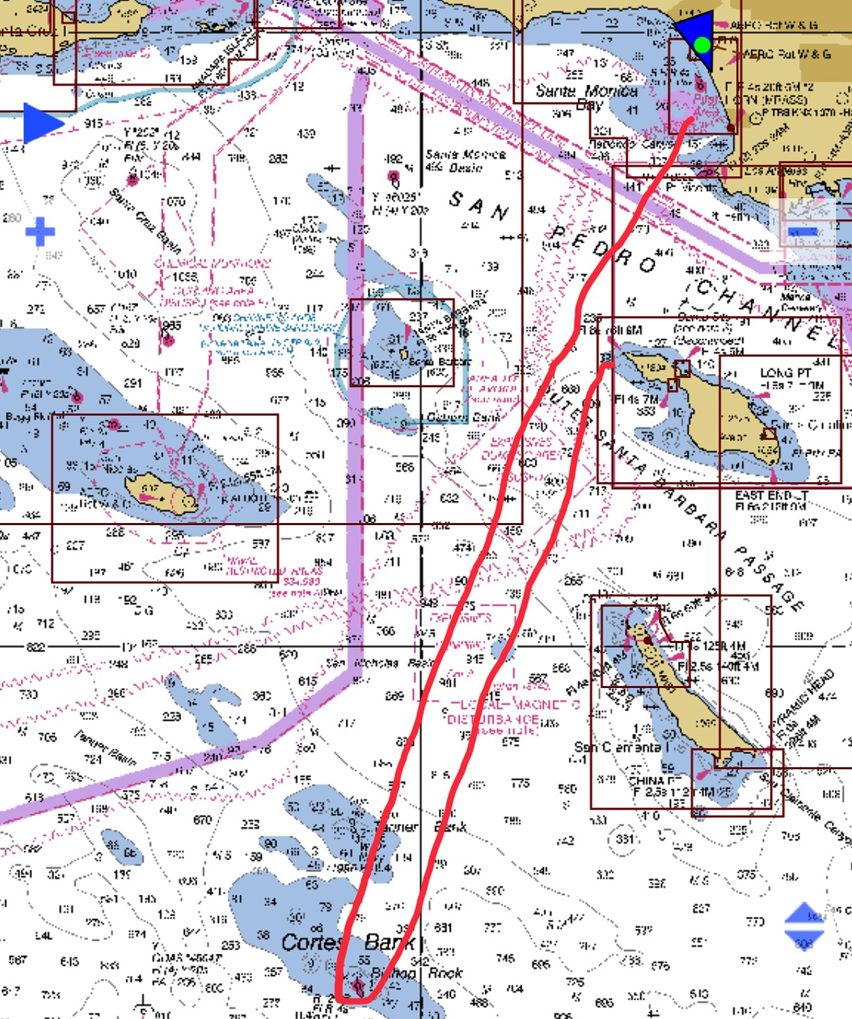 This would have been my course for the day. 165nm