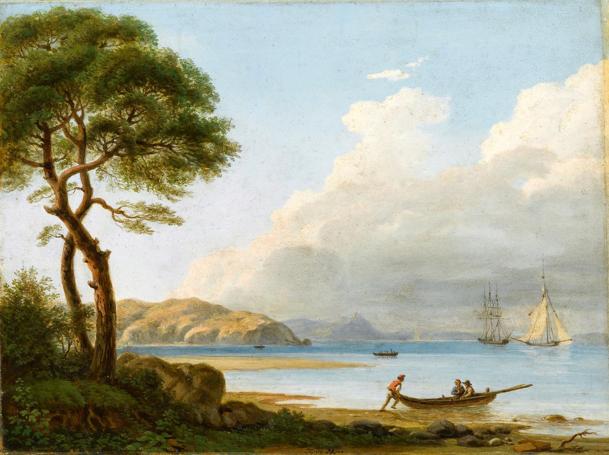 Xavier de Maistre's painting,  The Farewell