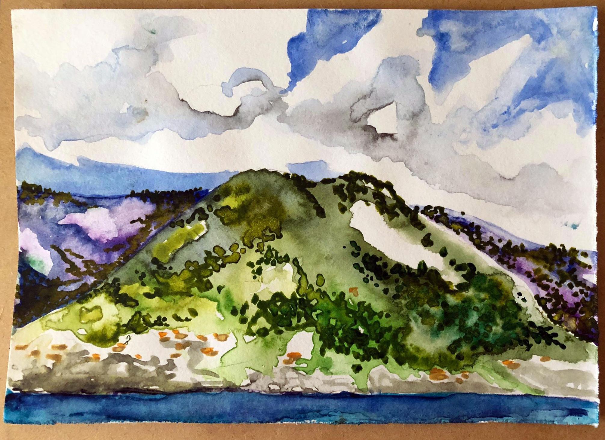 Cinque Terre Watercolour