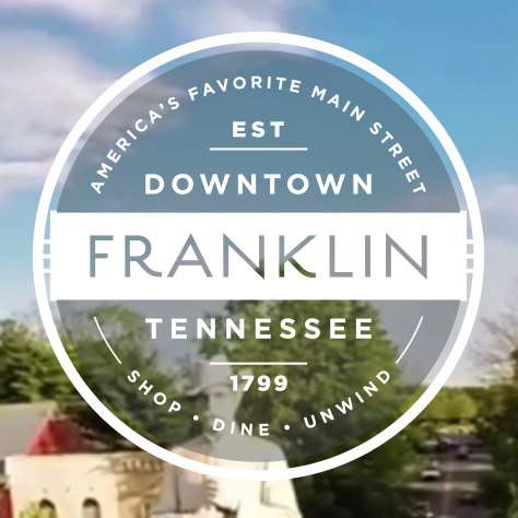 Downtown Franklin Tennessee   Shop, Dine, Unwind. Fourteen miles and 100 years from Nashville,   Downtown Franklin.    http://downtownfranklintn.com