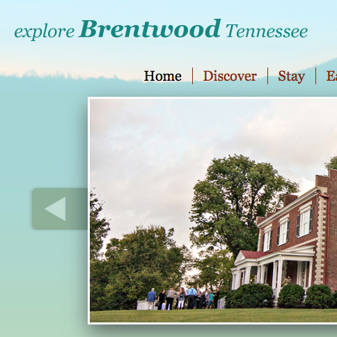 Explore Brentwood    Explore Brentwood   provides helpful information to residents and visitors about Brentwood's hotels, restaurants, retail shops, services, and recreational facilities.    http://www.explorebrentwood.com