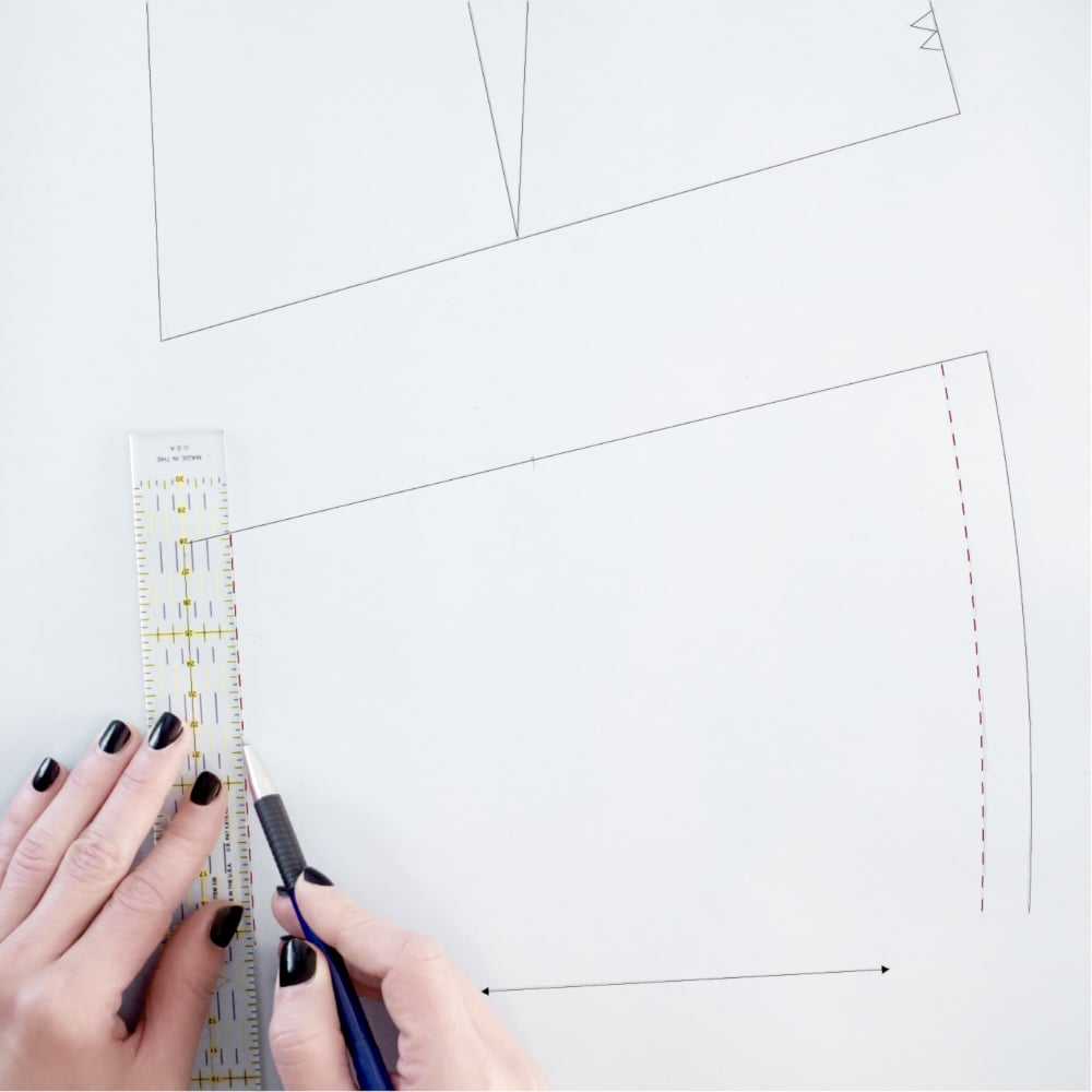 ::::5. draw stitching lines ::5. disegna le linee di cucitura::::