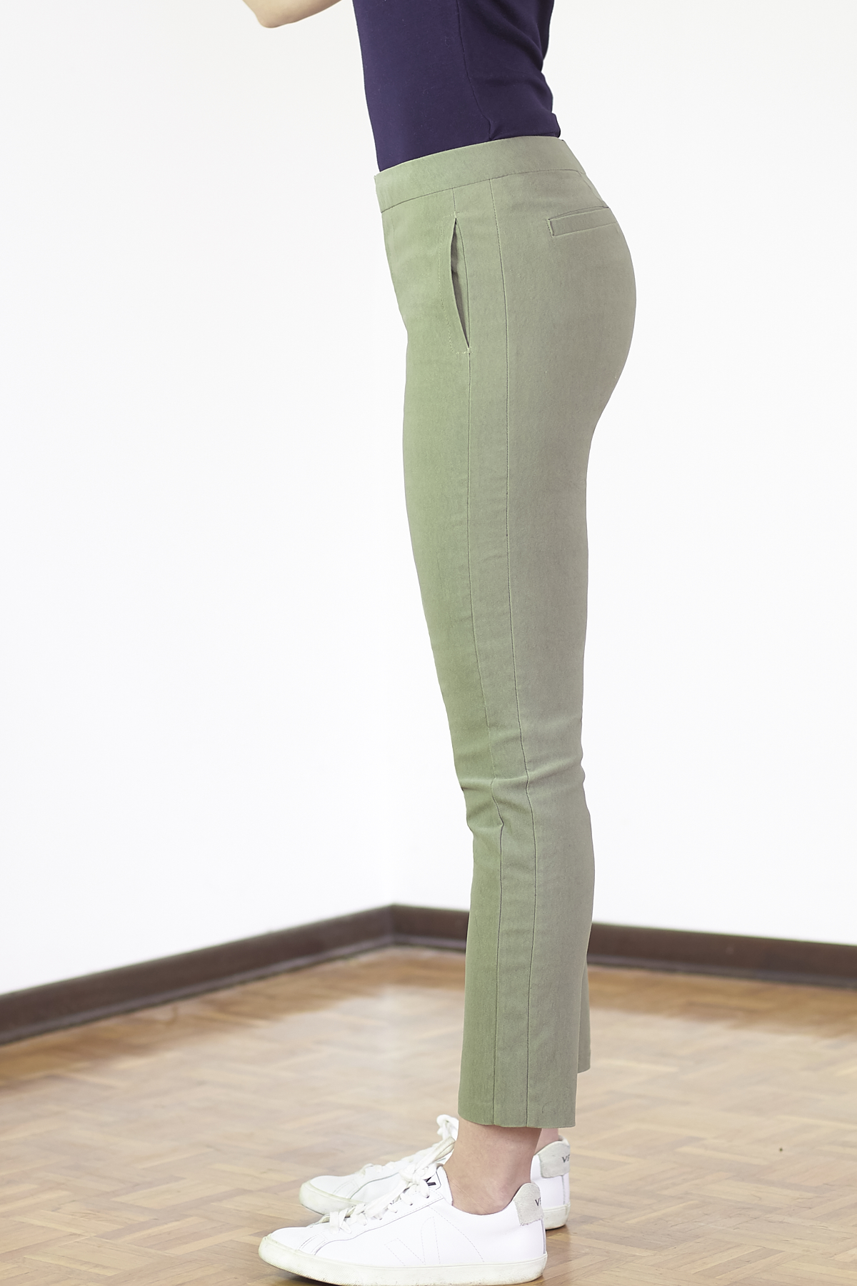 Burda Cropped Trousers