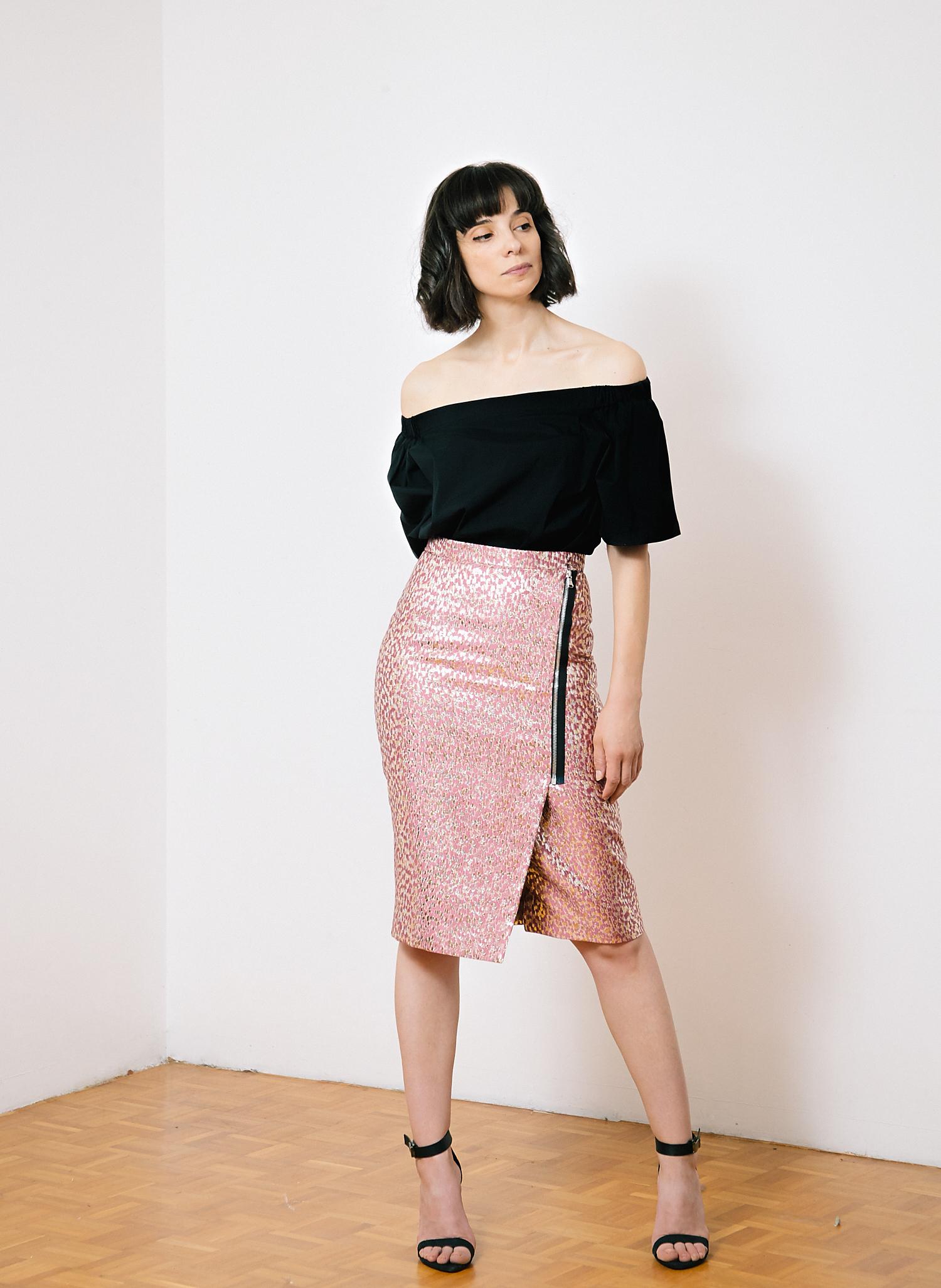 DIY Burda skirt