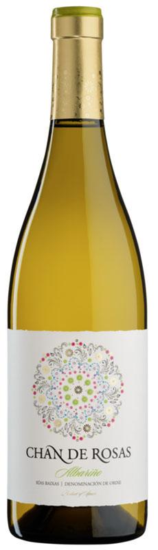 Chan de Rosas es un vino blanco del año 2014 de la D.O. - Denominación de Origen Rías Baixas, un monovarietal elaborado con la variedad de uva Albariño.