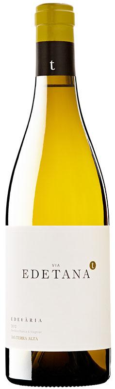 Vía Edetana 2014 es un vino blanco joven de la Denominación de Origen – D.O. Terra Alta en Cataluña, elaborado por la bodega Edetària con uvas de la variedad autóctona Garnacha Blanca en un 70%procedente de viñas de más de 40 años, y Viognier en un 30%.