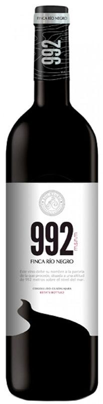 992 Vino Tinto de la Tierra de Castilla Finca Río Negro