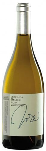 Vino Blanco Ostatu Lore 2013 - Denominación de Origen Calificad
