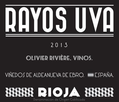 Vino Rayos UVA Olivier Rivière