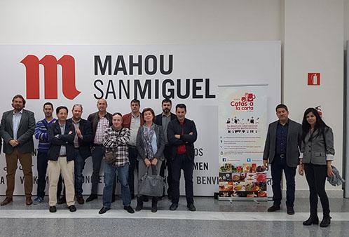 Visita Fabrica Mahou Alovera Guadalajara Plataforma Catas a la C