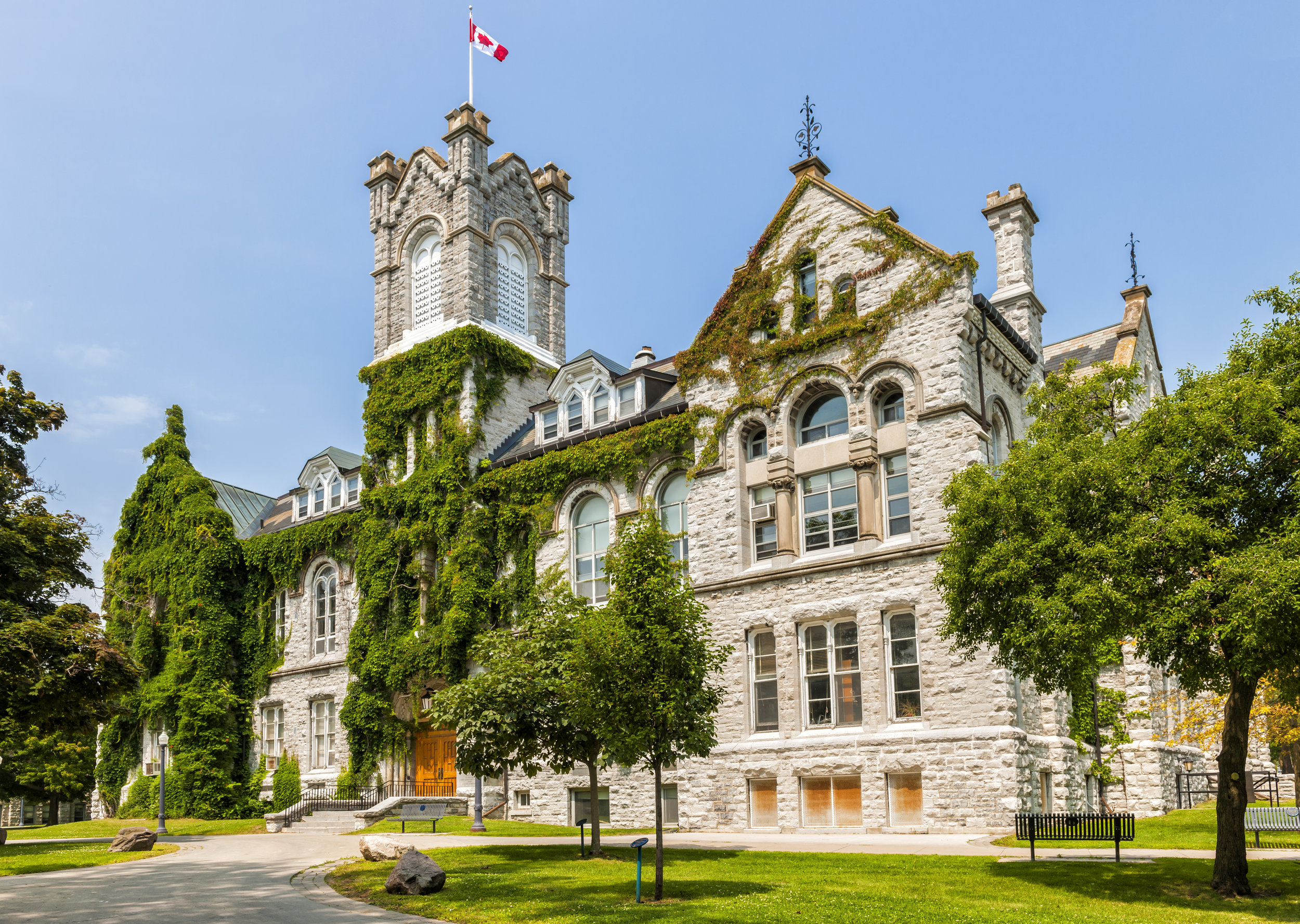 Queen's University in Kingston, Ontario.