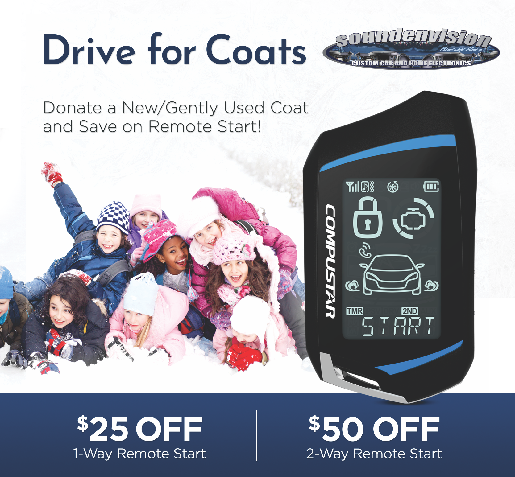 Drive for Coats - Soundenvision