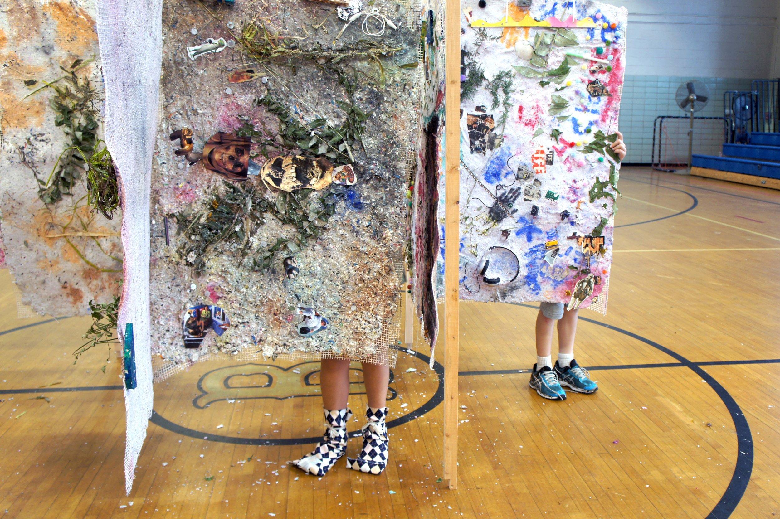 Paper tapestries