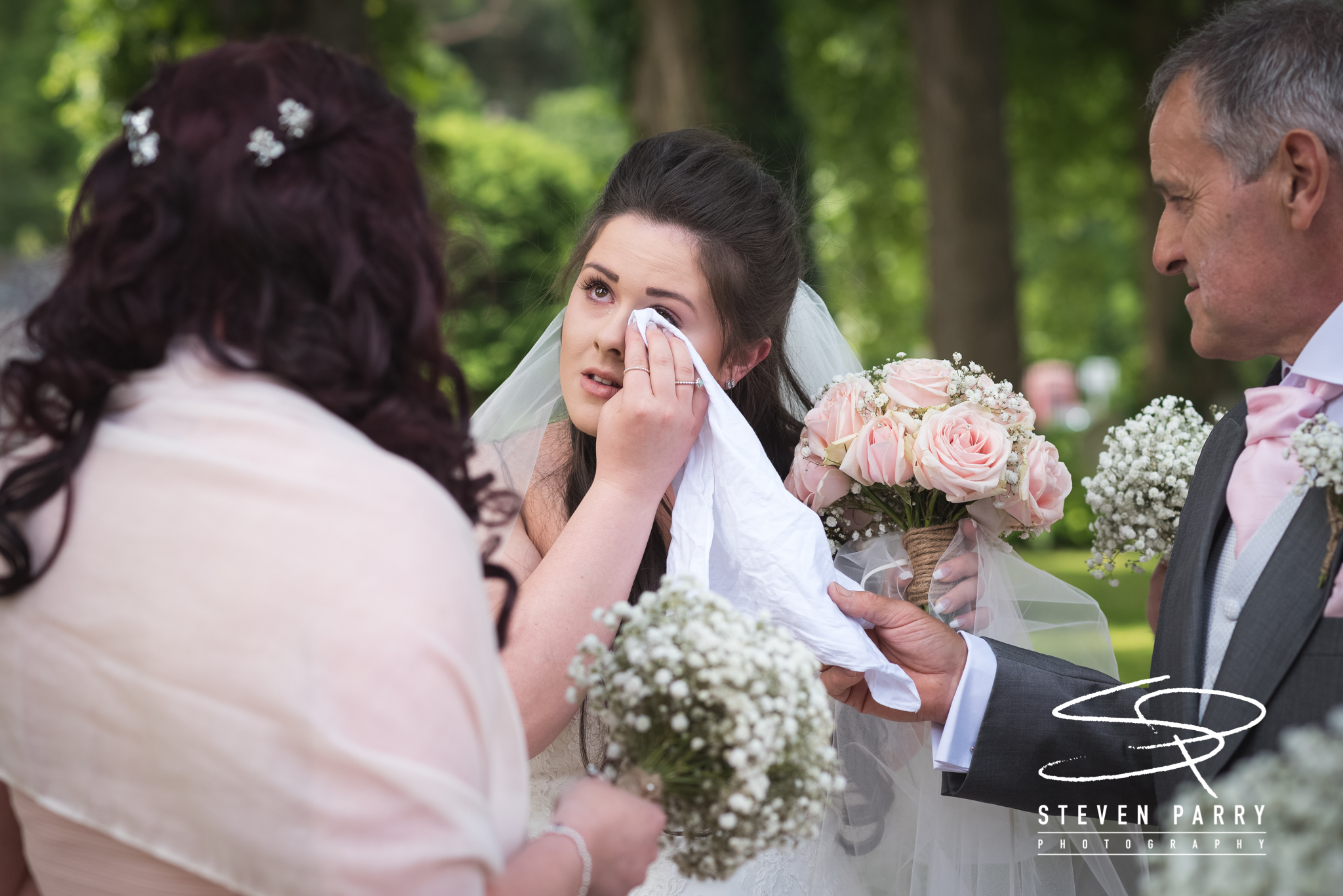 Emotional times at Jess & Ricci's amazing day.