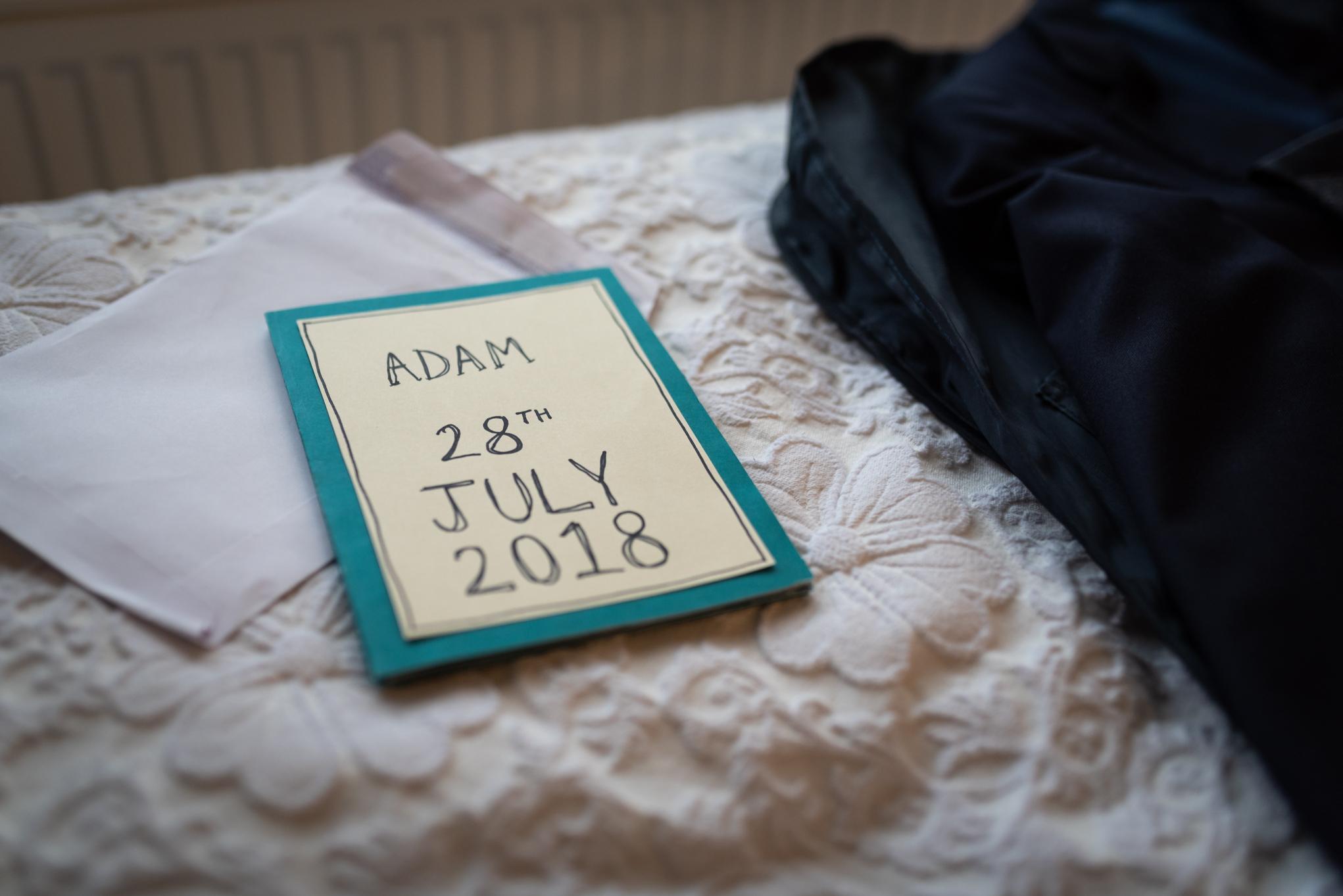 Wedding details - Powys Wedding Photography